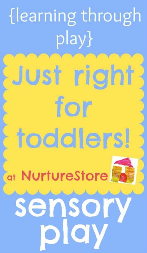 activities for toddlers sensory play