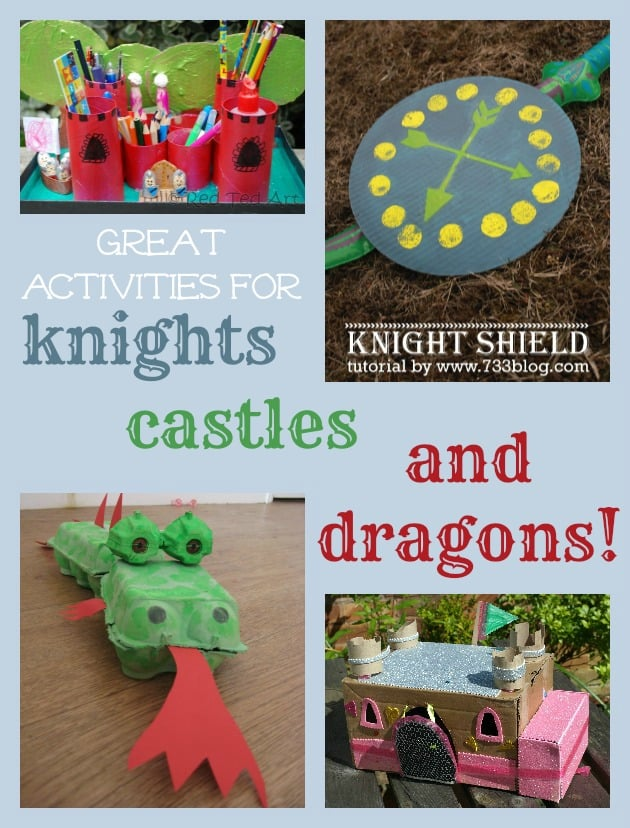 dragons castles and knights 2