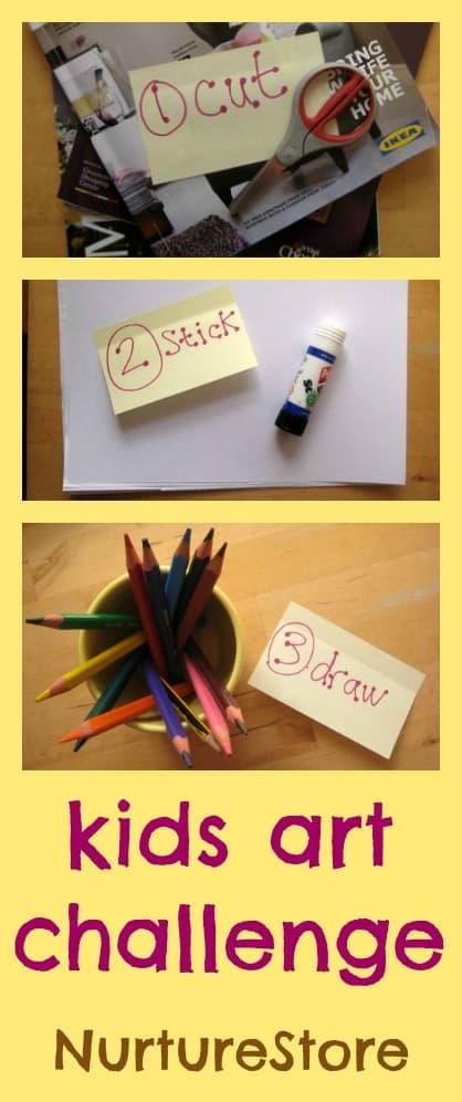 kids art challenge 1