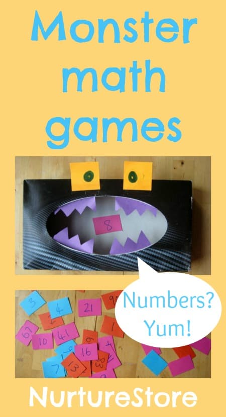 math games monsters
