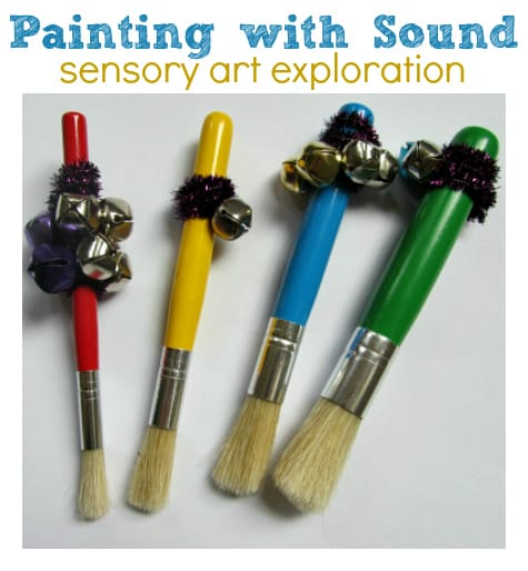 painting-with-sound-preschool-art-idea