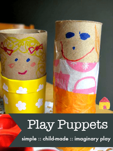 simple puppets for kids to make