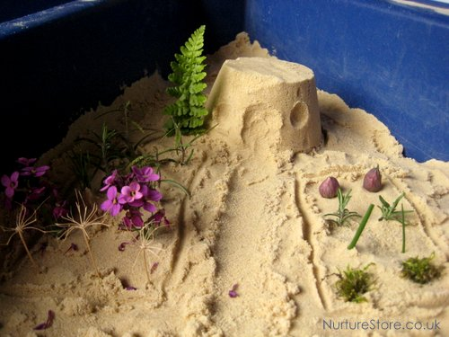 small world fairy garden