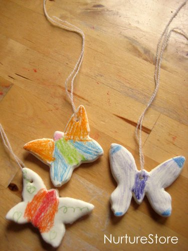craft recipe how to make clay butterfly craft