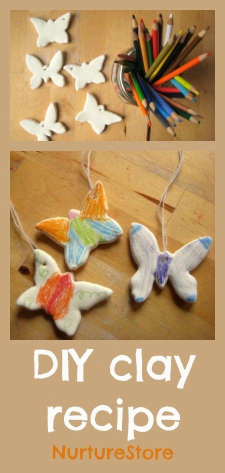 Diy craft recipe how to make clay nurturestore for Home crafts to make