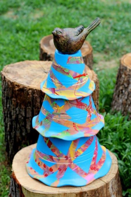 toddler crafts garden art