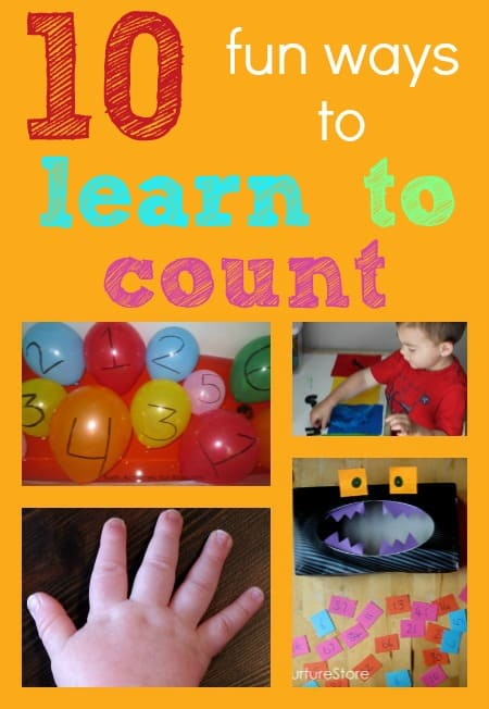fun ways to learn to count