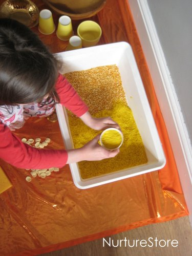 midsummer messy play