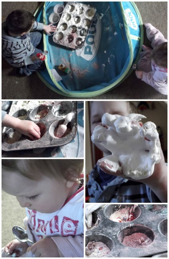 sensory play mixing potions