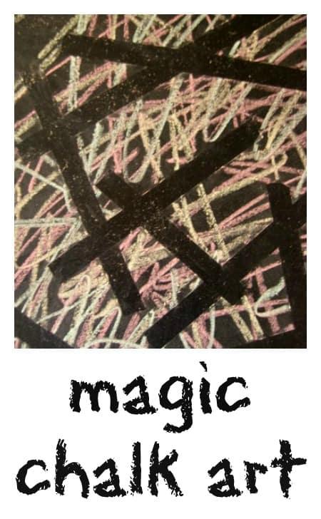 chalk art for kids