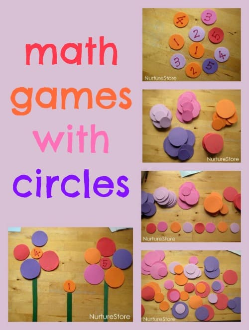 Great ideas for math games