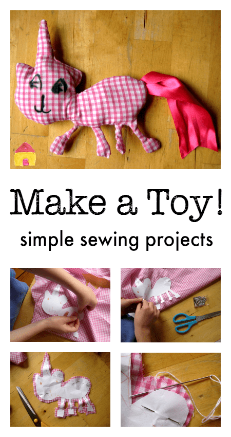 simple sewing projects for kids :: DIY toy