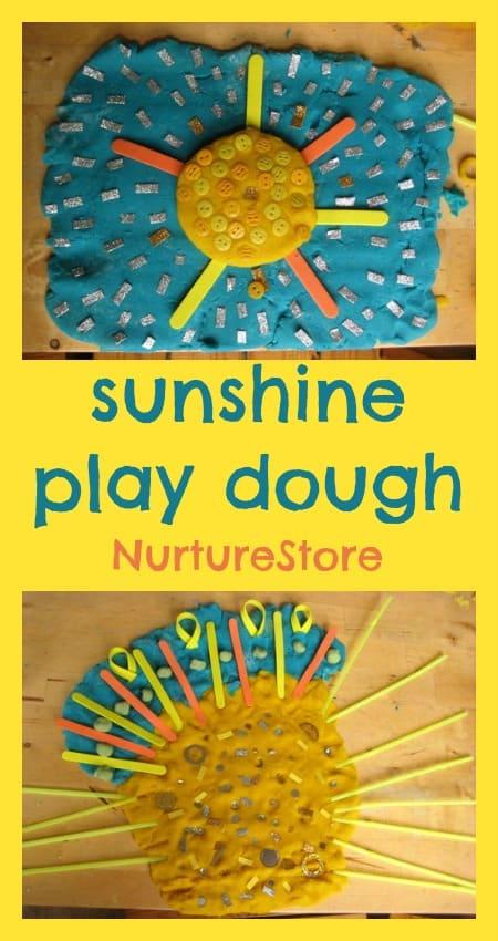sunshine play dough recipe