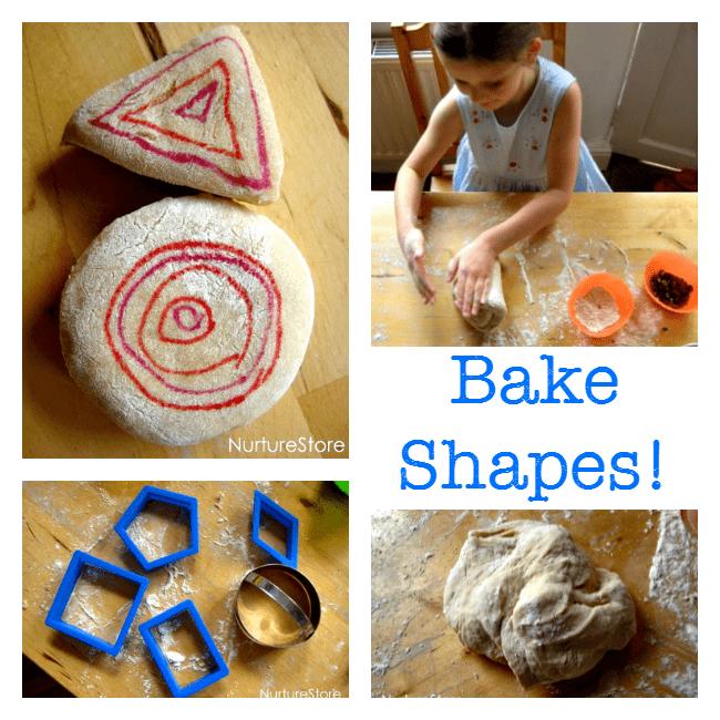 baking shapes activity for preschool
