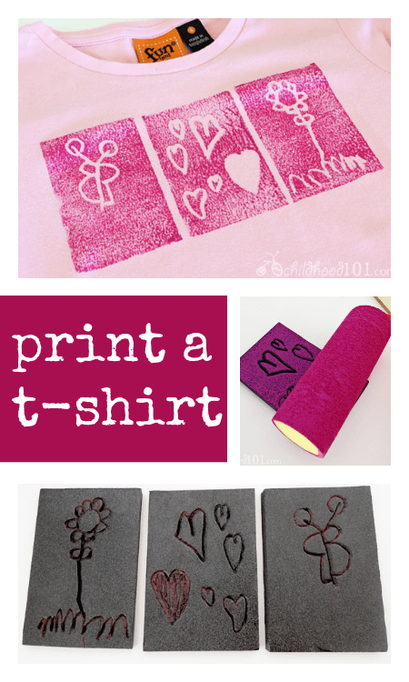 hot to prisnt a t-shirt :: t shirt craft