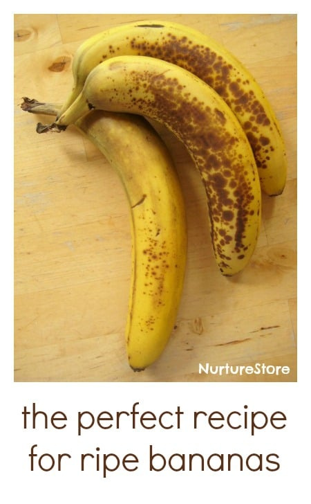 Love this recipe for using up ripe bananas - yummy and sugar free!