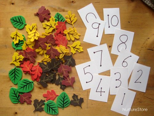 fall math games