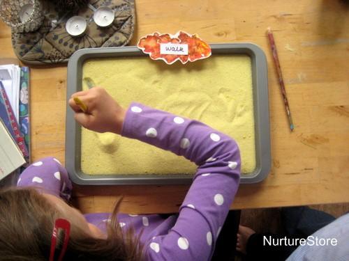 salt tray spellings