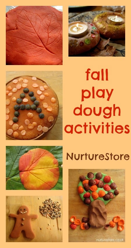 fall play dough activities