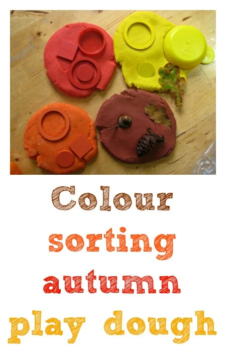 fall play dough
