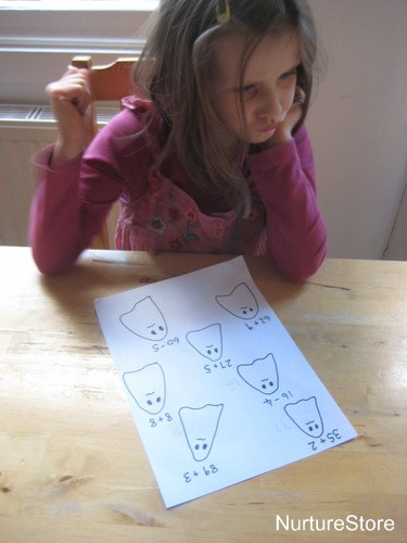 math games for halloween