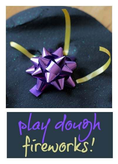 Play dough fireworks!