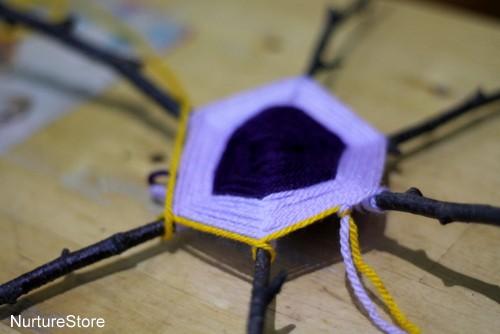 twig weaving autumn crafts