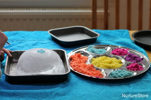 kids science ice experiments