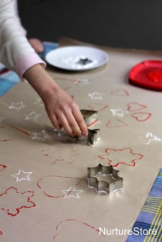 diy wrapping paper | NurtureStore
