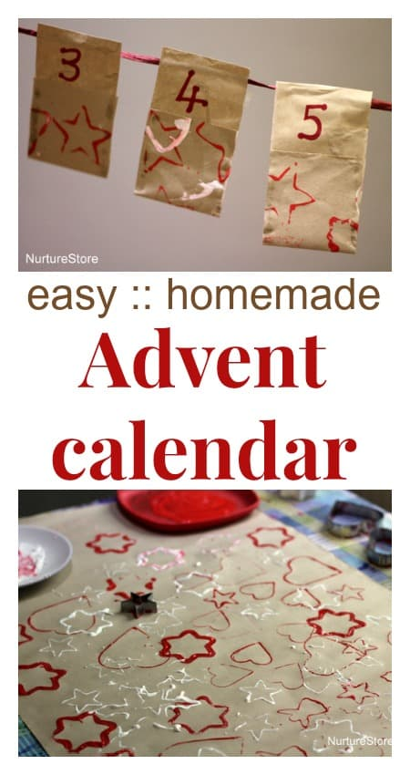 Advent Calendar Homemade : Easy homemade advent calendar nurturestore