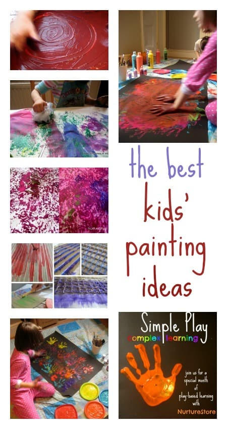 the best kids painting ideas
