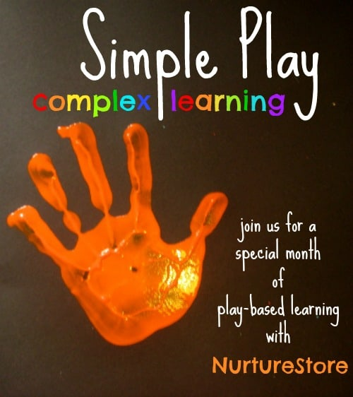 Join NurtureStore for a special month of play-based learning: packed full of kids ideas!