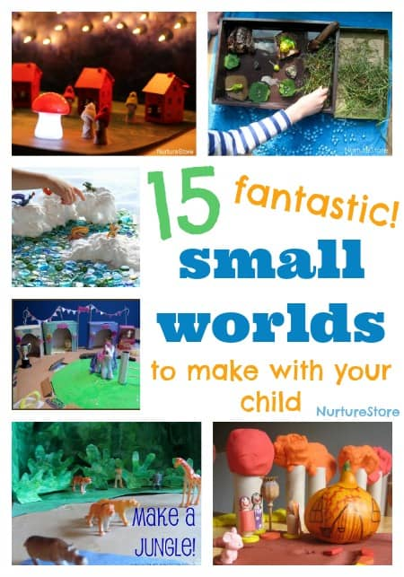15 fantastic small worlds to make with your child for imaginary play | NurtureStore: inspiration for kids