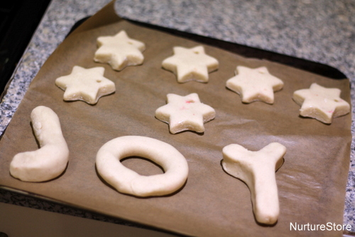 christmas salt dough