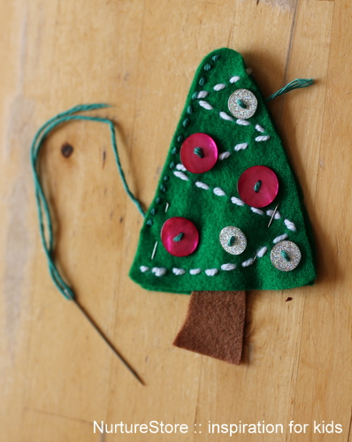 simple sewing kids Christmas