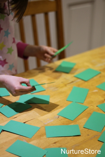 diy christmas matching game