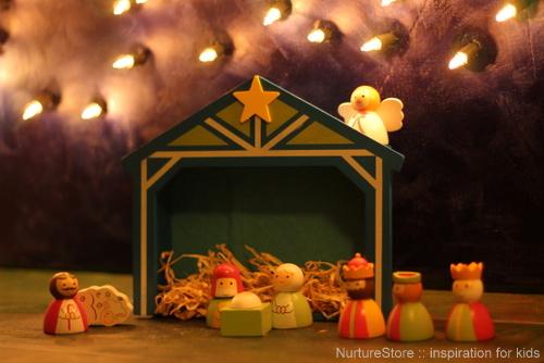 nativity imaginary play
