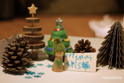 christmas tree imaginary play