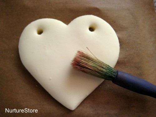 diy clay heart decorations