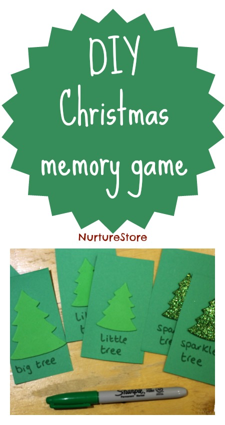 DIY memory game - fun and great for kids' brains! | NurtureStore :: inspiration for kids