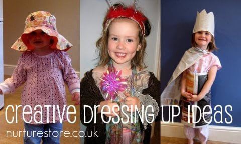 imaginary play dressing up