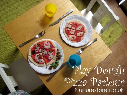 play dough pizza parlour