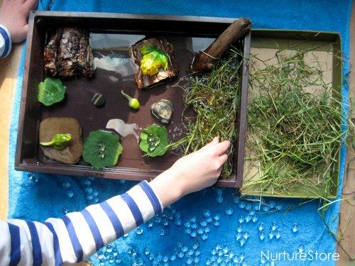 frog pond small world