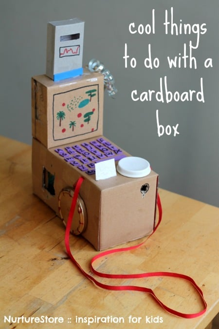 cardboard box crafts for kids | NurtureStore :: inspiration for kids