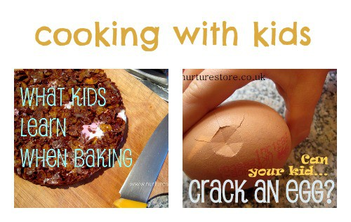 Great recipes for cooking with kids | NurtureStore