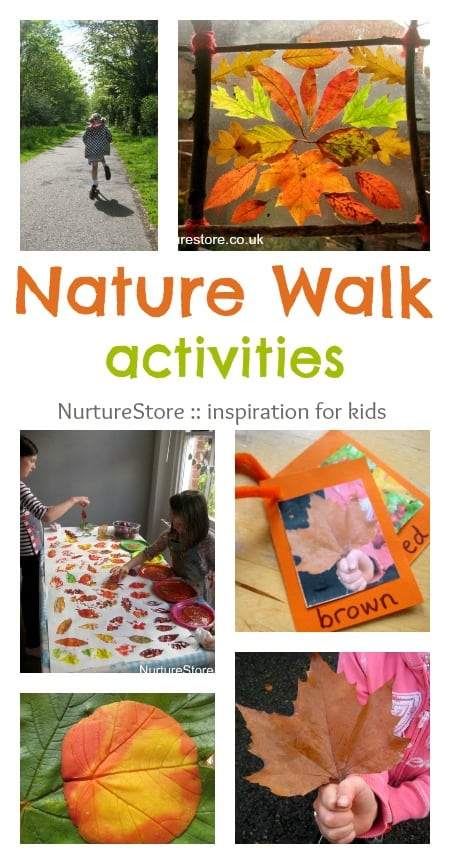 nature walk ideas simple play nurturestore. Black Bedroom Furniture Sets. Home Design Ideas