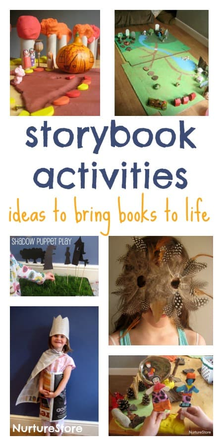 Storybook activities :: an excellent resource for bringing books to life   NurtureStore :: inspiration for kids