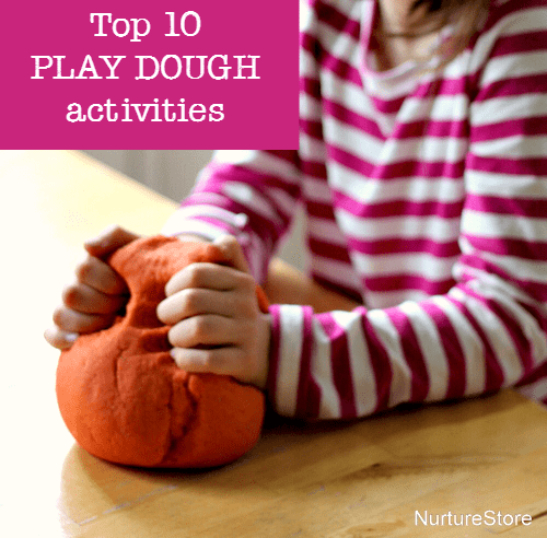 The Top 10 play dough activities for sensory play