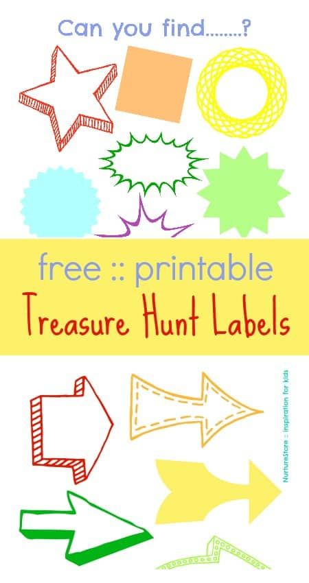photo regarding Printable Scavenger Hunt for Kids known as Treasure hunt for young children :: with free of charge printables - NurtureStore