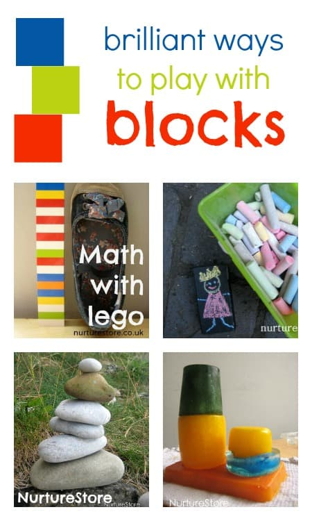 Brilliant ways to play with blocks | NurtureStore :: inspiration for kids